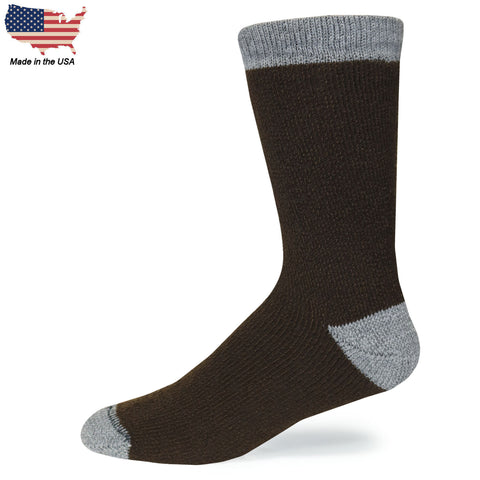 Foot Comfort Cozy Hornfels Crew Socks