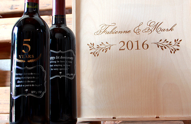 Personalized Wine Box 1