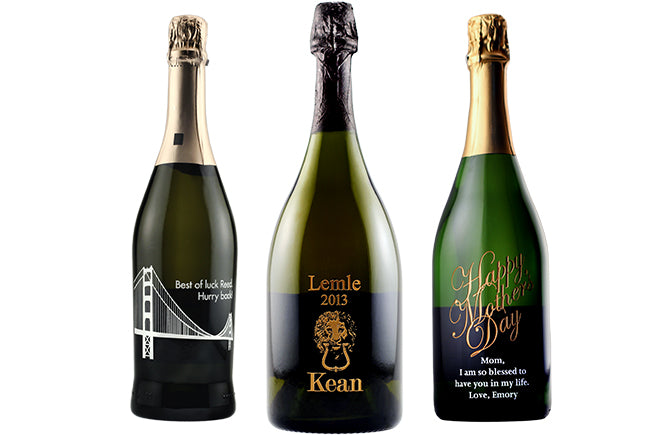 Engraved Champagne Bottles Amp Sparkling Wine Etching