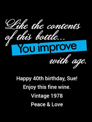 Boulevard The Sixth Glass Strong Ale - Birthday Improve with Age