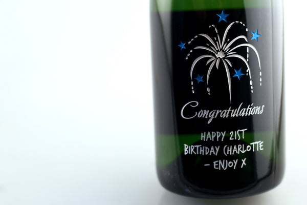 Chandon Brut - Congratulations Fireworks