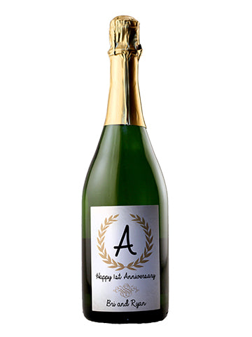 California Champagne - Monagram Label