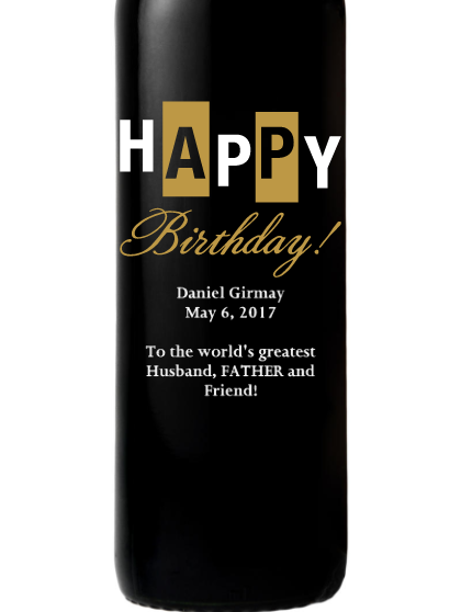 La Terre Cabernet - Happy Birthday Bold