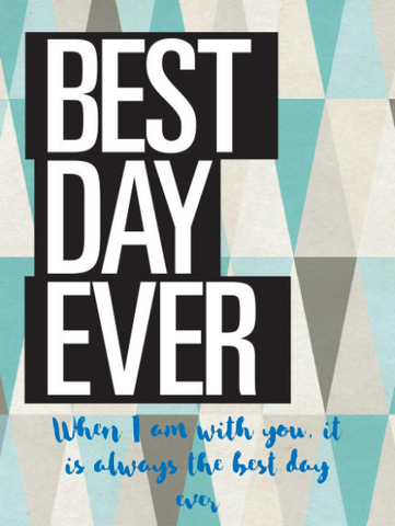 California Champagne - Best Day Ever Label