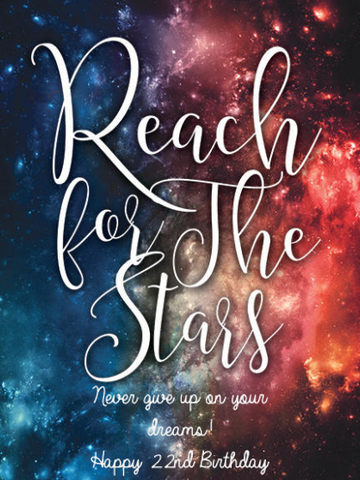California Champagne - Reach for the Stars Label