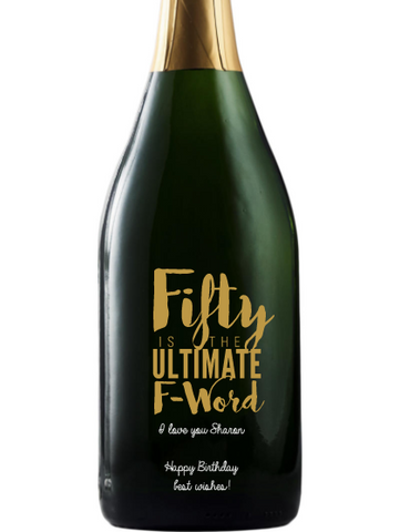 California Champagne - Fifty Ultimate F-Word