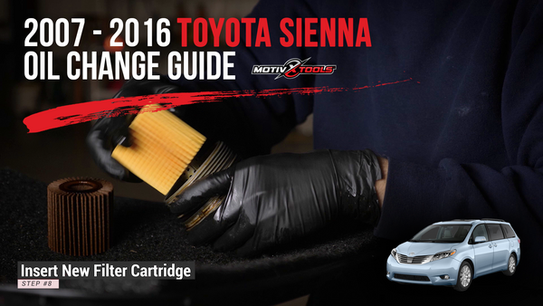 2007-2016 Toyota Sienna Oil Change Guide