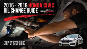 2016-2018 Honda Civic Oil Change Guide