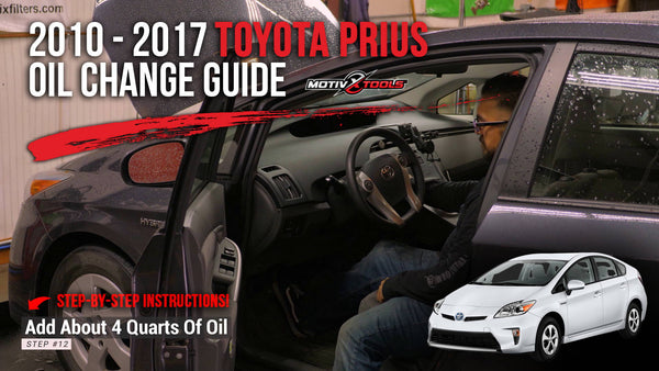 2010-2017 Toyota Prius Oil Change Guide