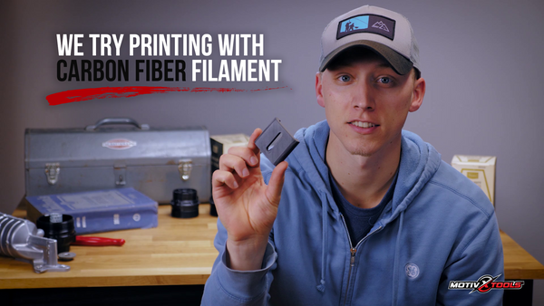 3D Printing With Carbon Fiber Filament