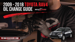 2009-2018 Toyota RAV4 Oil Change Guide