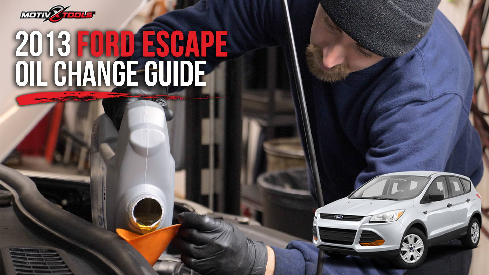 2013 Ford Escape Oil Change Guide