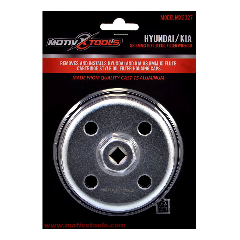 MX2327 Hyundai & Kia 88mm Oil Filter Wrench Packaging