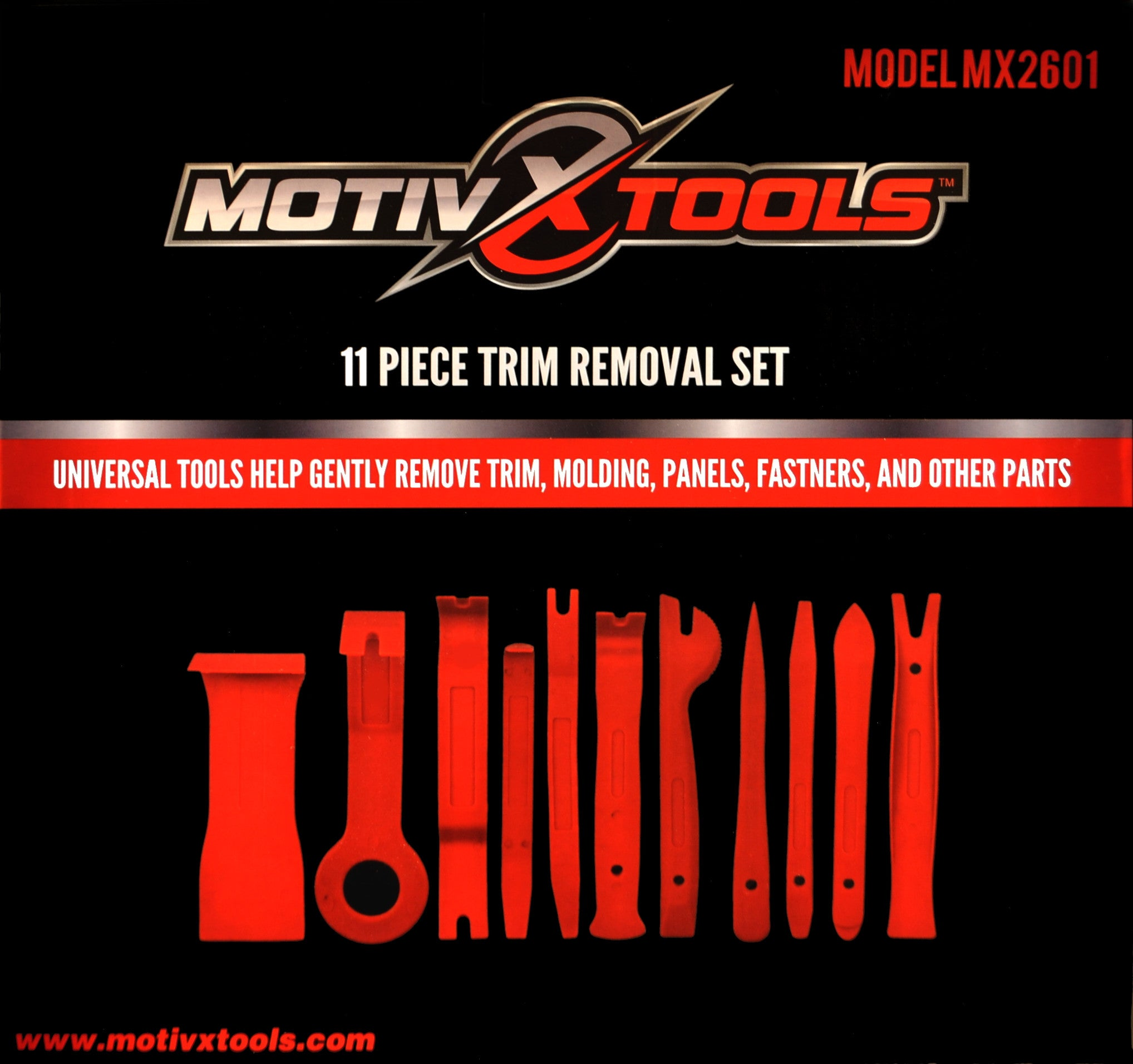 MX2601 Trim and Panel Removal Set Packaging