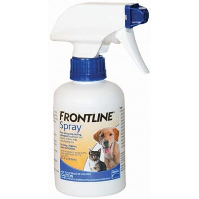 Merial 10151 Frontline Spray, 250 ml - Peazz Pet