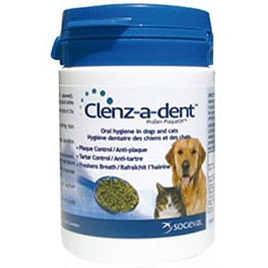 Clenz-A-Dent PlaqueOff Food Additive 40 g - Peazz Pet