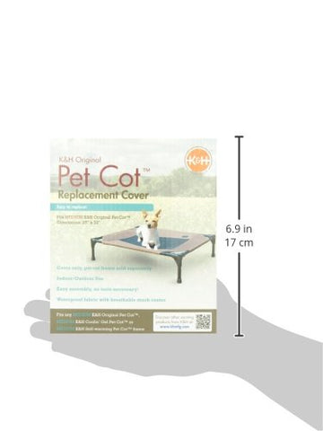 K&H Pet Products KH1631 Original Pet Cot Replacement Cover