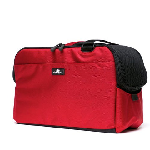 Sleepypod Atom AT-RED Metro Pet Carrier (Strawberry Red) Small