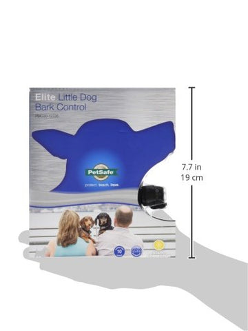 PetSafe PBC00-12726 Deluxe Little Dog Bark Control + Free 2 x RFA-188 Batteries