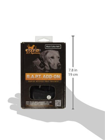 D.T. Systems RAPT-1400-ADDON-O Rapid Access Pro Dog Trainer Add-on collar