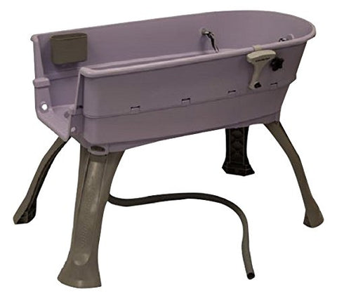 Booster Bath BB-MED-LILAC-FLAT Elevated Dog Bath and Grooming Center Flat Rate Shipping