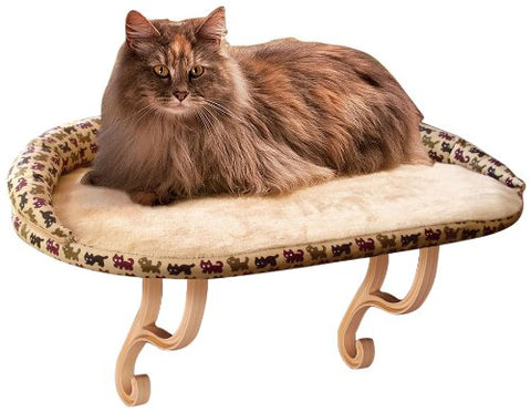 K&H Pet Products KH3097 Kitty Sill Deluxe with Bolster