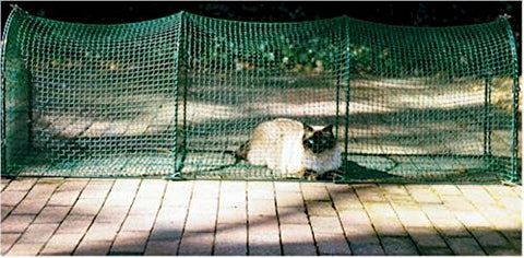 Kittywalk KW100P Deck and Patio Outdoor Cat Enclosure