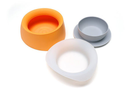 Sleepypod Yummy Bowl Set YB-MAN-S (Mango Tango) Small