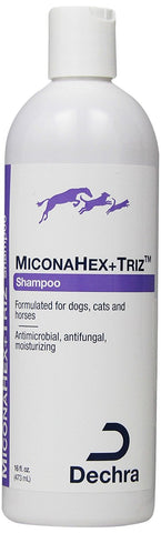 MiconaHEX+Triz Shampoo, 16 oz - Peazz Pet