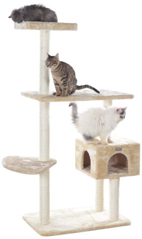 GleePet 57 in. Steady Me Cat Tree