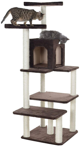 GleePet 66 in. 4 Level Cat Tree