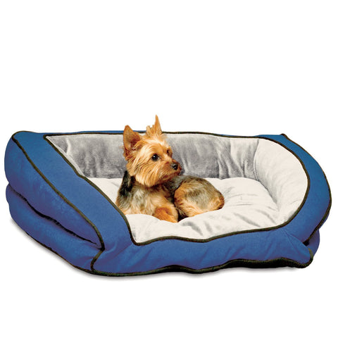 K&H Pet Products KH7312 Bolster Couch Pet Bed
