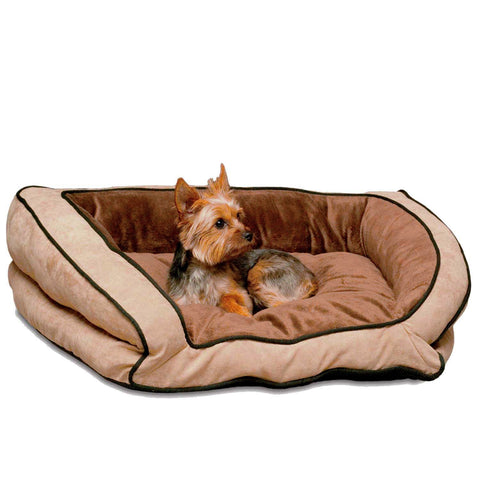 K&H Pet Products KH7311 Bolster Couch Pet Bed