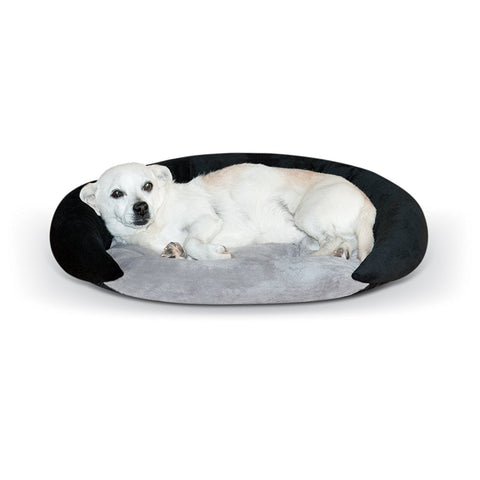 K&H Pet Products KH4214 Self-Warming Bolster Bed