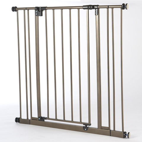 North States NS4993S Extra Tall Deluxe Easy-Close Pressure Mounted Pet Gate
