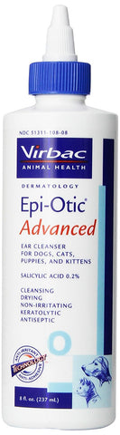 Epi-Otic ADVANCED Ear Cleanser 8 oz - Peazz Pet