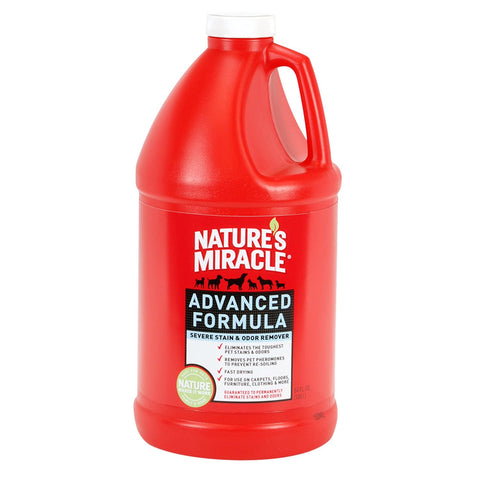 Natural Miracle Advanced Stain & Odor 64 Ounce (P-5756) -Peazz Pet