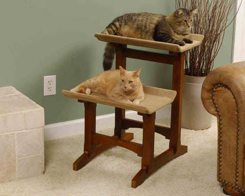Craftsman Series MH17201 Double Seat Cat Perch