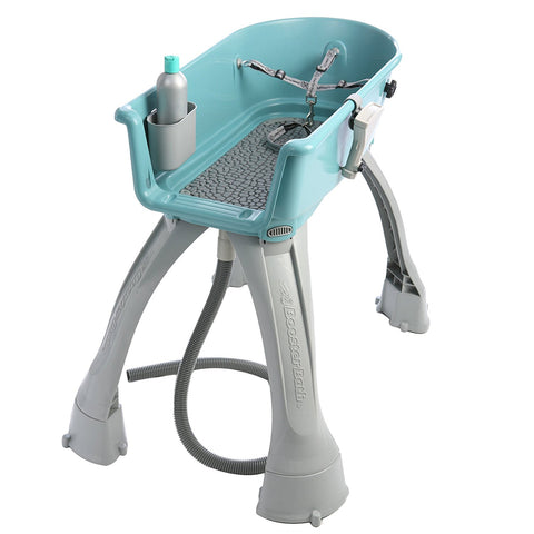 Booster Bath BB-MED-TEAL-FLAT Elevated Dog Bath and Grooming Center Flat Rate Shipping