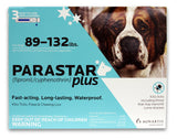 Parastar Plus For Dogs 89-132 lbs, 3 Applications - Peazz Pet