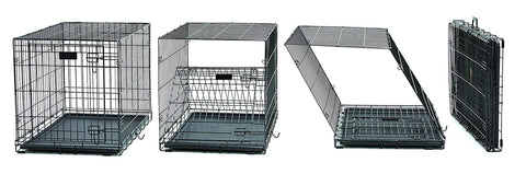 Midwest 742UP Ultima Pro Double Door Dog Crate