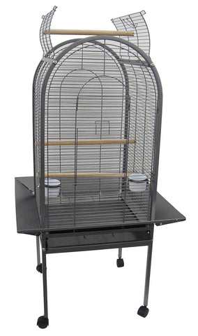 YML ER22 1/2 Bar Spacing Dome Top Parrot Bird Cage