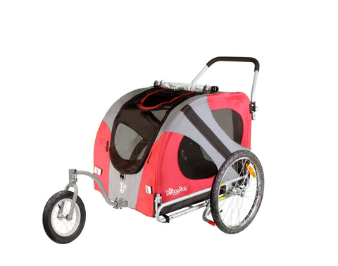 DoggyRide Original Dog Jogger-Stroller (DRORJS09-RD) - Peazz Pet - 2