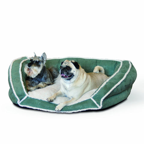 K&H Pet Products KH7316 Deluxe Bolster Couch Pet Bed