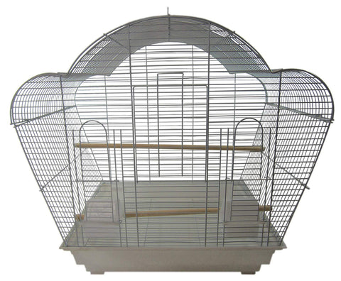 YML Scallop-Top Bird Cage with Optional Stand