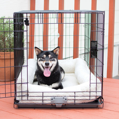 K&H Pet Products KH7929 Deluxe Bolster Dog Crate Pad