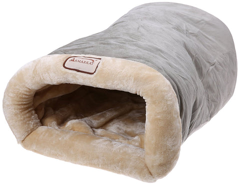 Armarkat Burrow Pet Cat Beds for Cats and Small Dogs