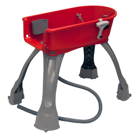 Booster Bath BB-MED-RED Elevated Dog Bath and Grooming Center