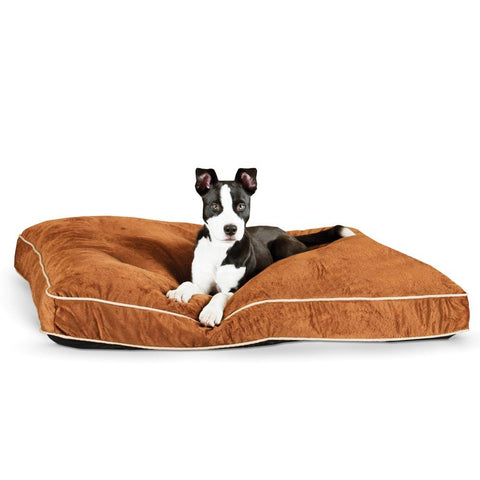 K&H Pet Products KH7421 Tufted Pillow Top Pet Bed