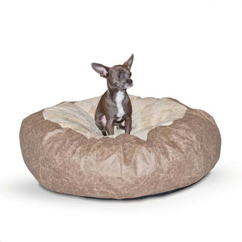 K&H Pet Products KH7516 Self Warming Cuddle Ball Pet Bed